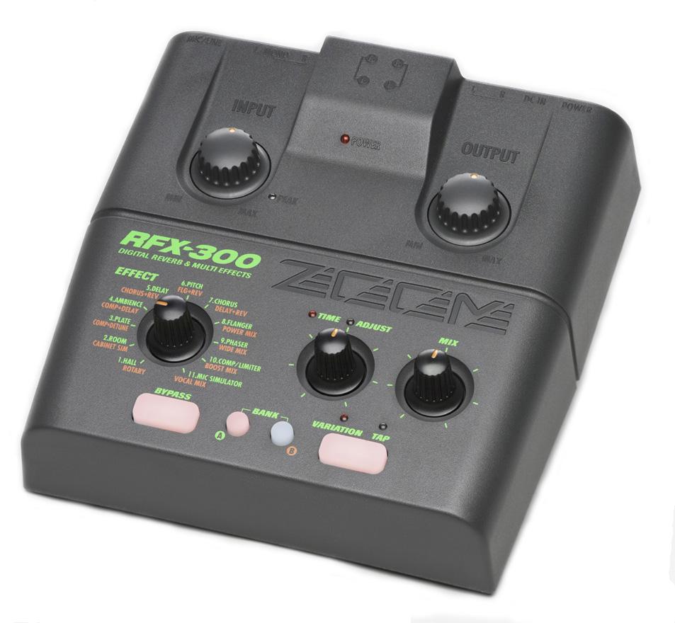 Ревербератор для микрофона