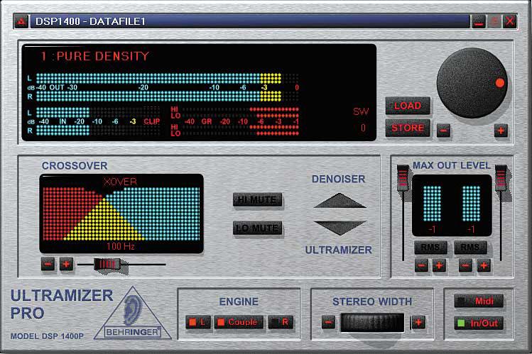 Behringer Dsp 1424p Ultramizer