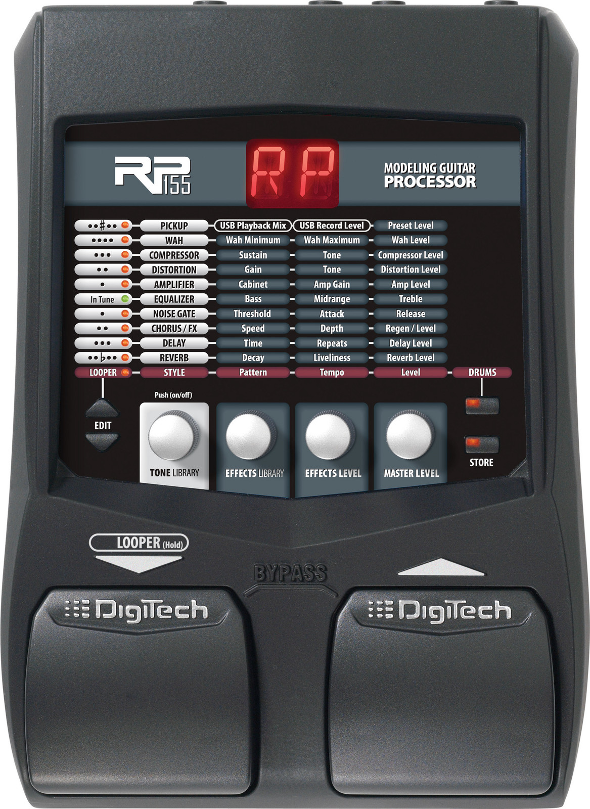 Digitech rp155 инструкция на русском