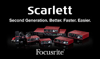 Звуковые интерфейсы FOCUSRITE SCARLETT 2nd GENERATION